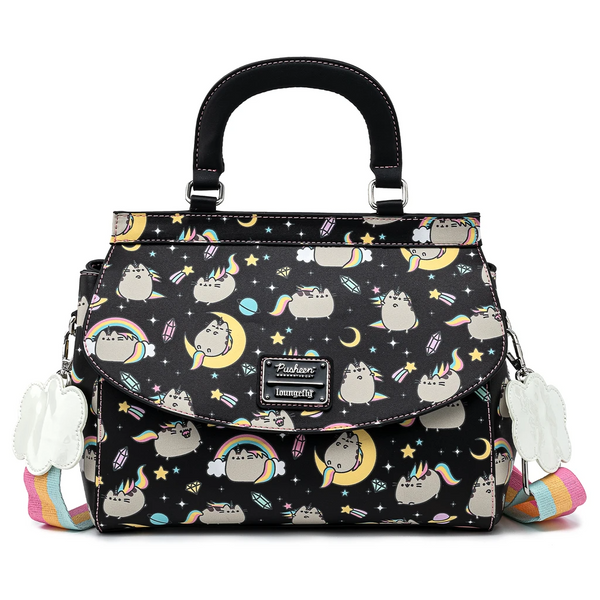 Loungefly Pusheen Rainbow Unicorn Crossbody