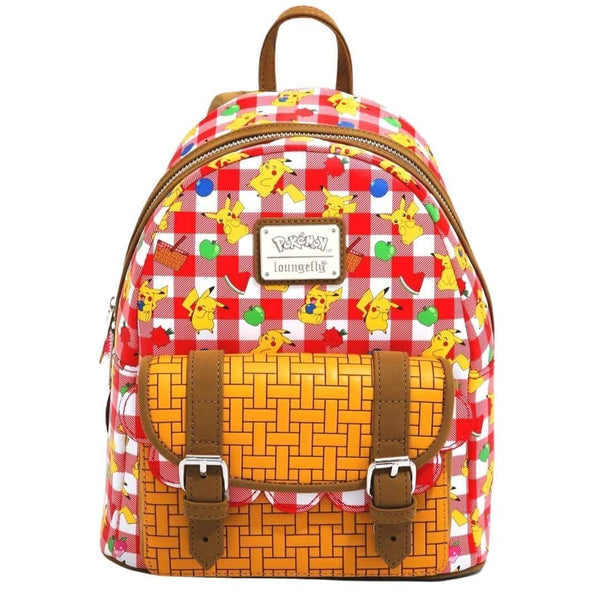 Loungefly Pikachu Picnic Basket Mini Backpack