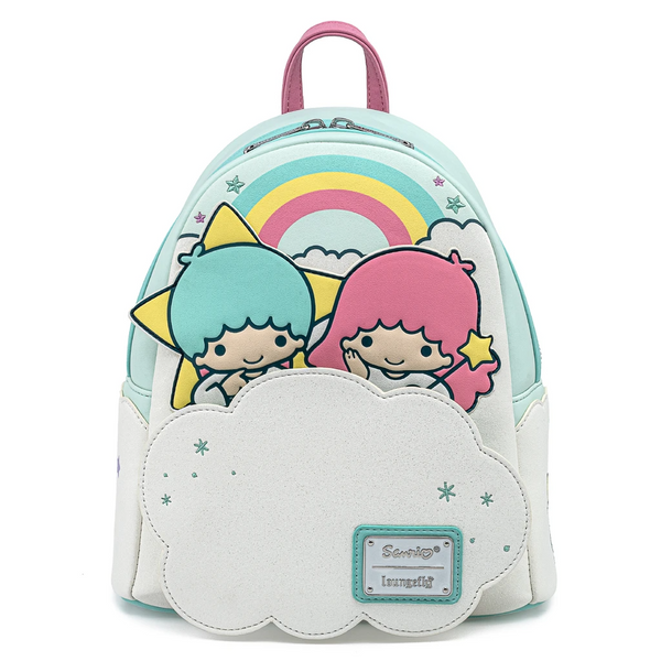 Loungefly Little Twin Stars Two Stars On Cloud Mini Backpack