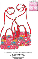 Loungefly Sanrio 60th Anniversary Crossbody PRE-ORDER, Price $65