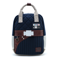 Loungefly Star Wars Empire Strikes Back 40th Anniversary Han Solo Hoth Canvas Backpack