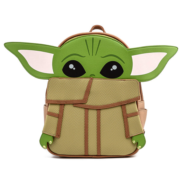 Loungefly Modern Pinup Exclusive Mandalorian The Child Grogu Mini Backpack