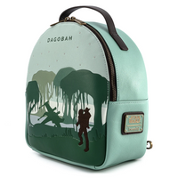 Loungefly Star Wars Dagobah Convertible Mini Backpack