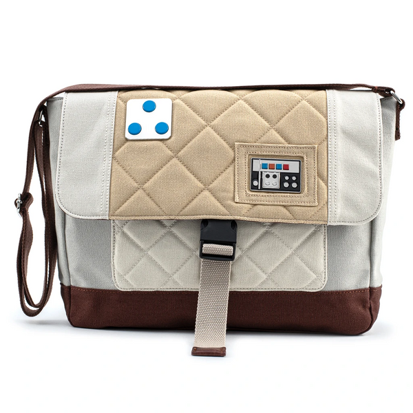 Loungefly Star Wars Empire Strikes Back 40th Anniversary Luke Hoth Canvas Messenger Bag