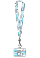Loungefly Star Wars Empire Strikes Back 40th Anniversary Lanyard with Cardholder