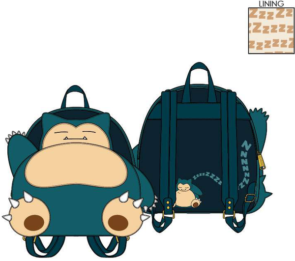 Loungefly Pokemon Snorlax Mini Backpack PRE-ORDER, Price $75