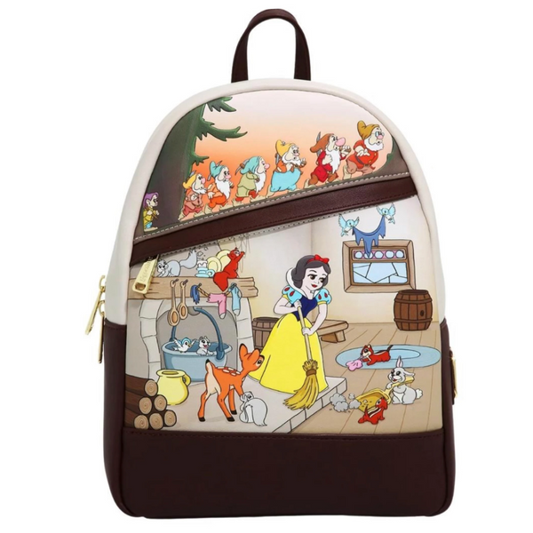 Loungefly Snow White Multi Scene Mini Backpack