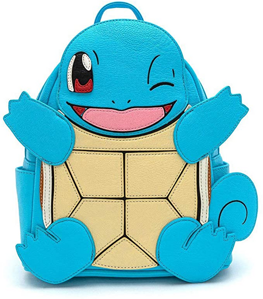Loungefly Pokemon Squirtle Mini Backpack