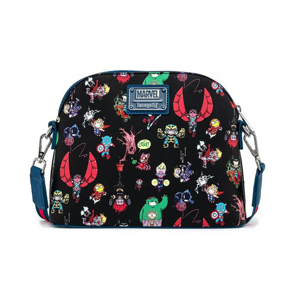Loungefly Marvel Sy Chibi Group Crossbody