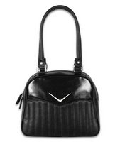 Liquor Brand Vega Bowler Black Purse