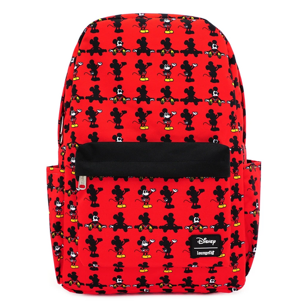 Loungefly Disney Mickey Mouse Parts Nylon Backpack