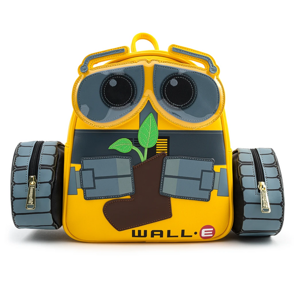 Loungefly Pixar Wall-E Plant Boot Mini Backpack