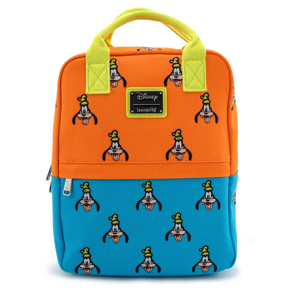 Loungefly Disney Goofy Canvas Mini Backpack
