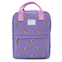 Loungefly Disney Daisy Duck Embroidered Canvas Backpack