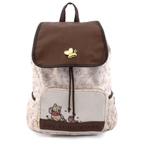 Loungefly Disney Winnie the Pooh Hundred Acre Woods Nylon Slouch Backpack