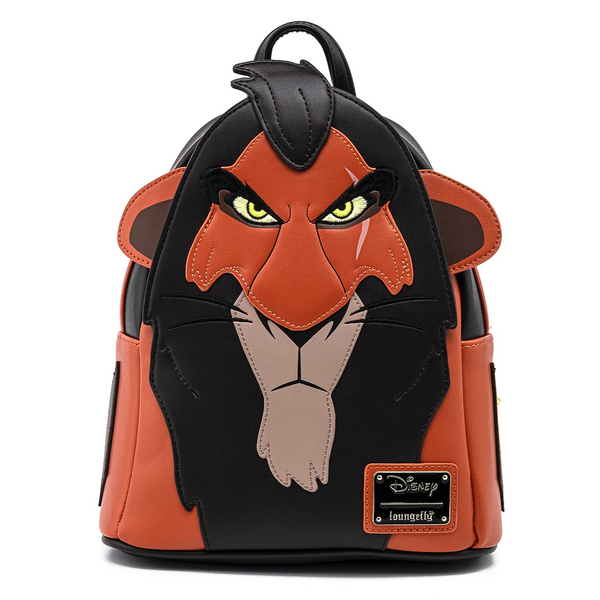 Loungefly Lion King Scar Cosplay Mini Backpack