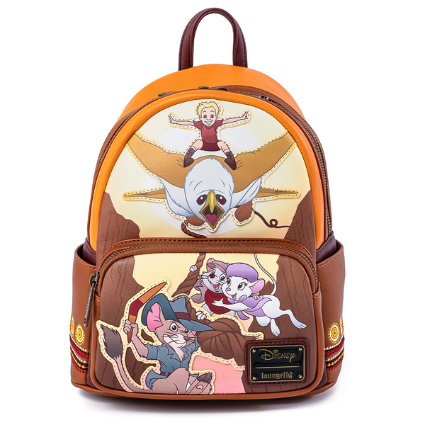 Loungefly Rescuers Down Under Mini Backpack