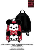 Pop By Loungefly Mickey and Minnie Mini Backpack PRE-ORDER, Price $75