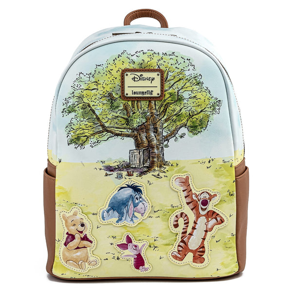 Loungefly Modern Pinup Exclusive Winnie the Pooh Treehouse Mini Backpack