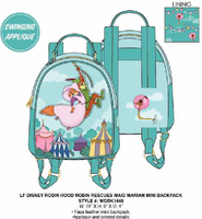 Loungefly Disney Robin Hood Rescues Maid Marian Mini Backpack PRE-ORDER PRICE $70