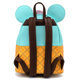 Loungefly Mickey and Minnie Sweets Ice Cream Mini Backpack