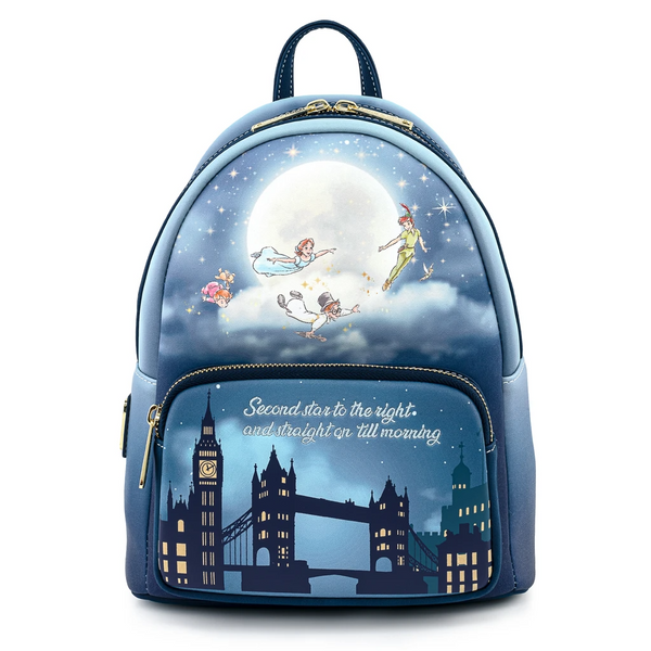 Loungefly Peter Pan Second Star Glow Mini Backpack
