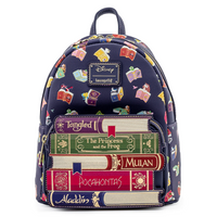 Loungefly Disney Princess Books AOP Mini Backpack PRE-ORDER PRICE $70
