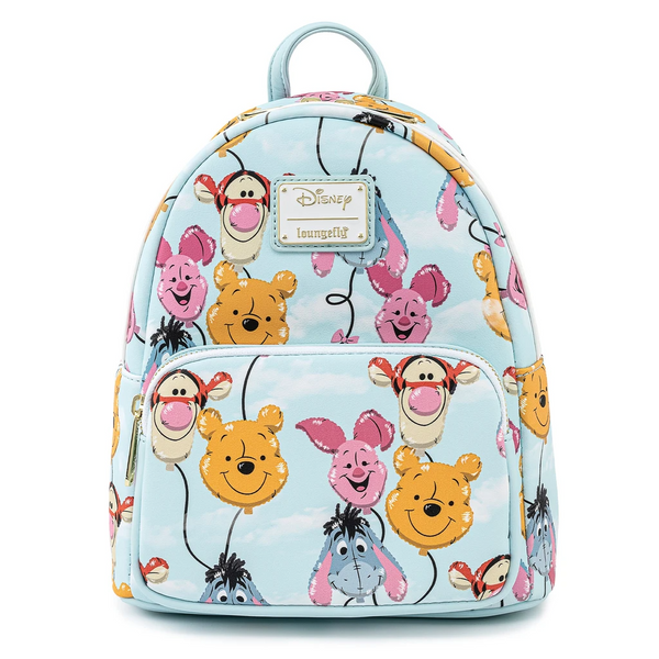 Loungefly Winnie the Pooh Balloon Friends Mini Backpack