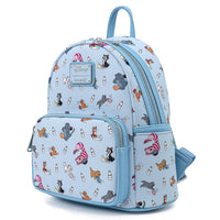Loungefly Modern Pinup Exclusive Disney Cats Mini Backpack