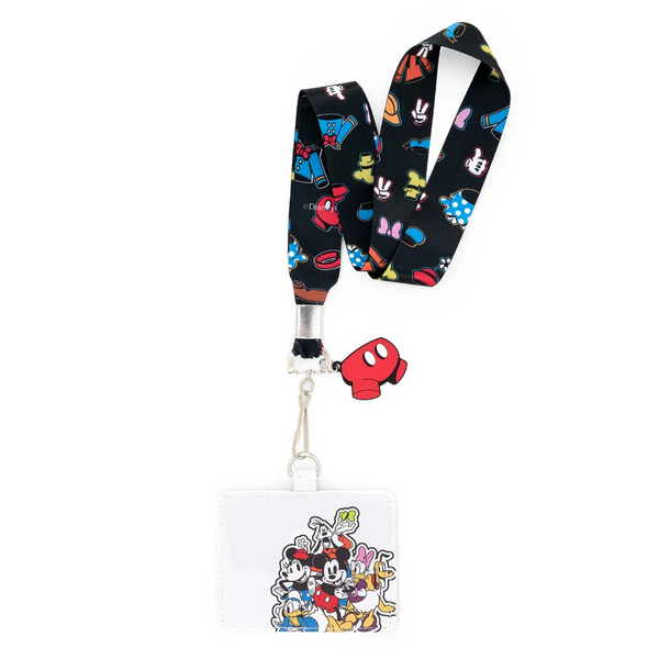 Loungefly Disney Sensational 6 Lanyard With Cardholder