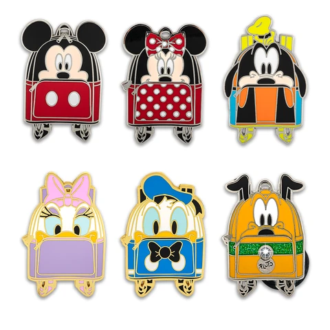Loungefly Disney Classic Mini Backpack Blind Box Enamel Pin