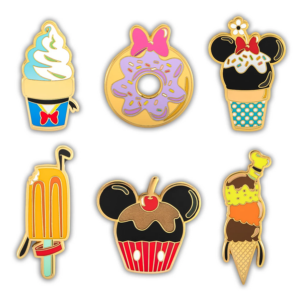 Loungefly Disney Sensational 6 Snacks Blind Box Pin