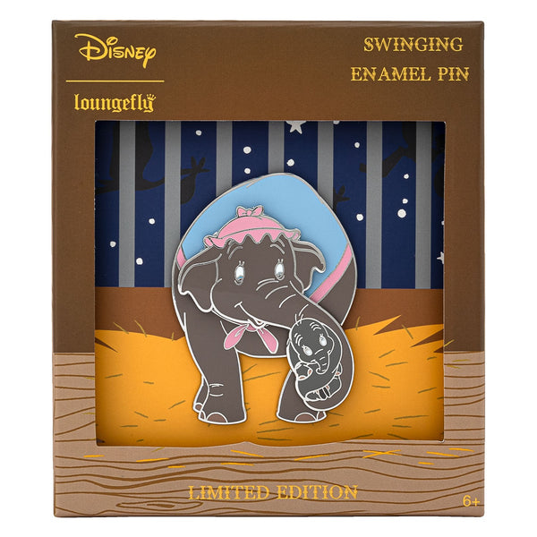 Loungefly Modern Pinup Exclusive Baby Dumbo with Mrs Jumbo Pin