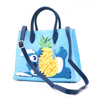 Loungefly Disney Stitch Chenille Tote Bag