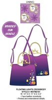 Loungefly Disney Tangled Floating Lights Crossbody PRE-ORDER, Price $75