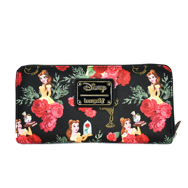 Loungefly Disney Belle Floral Wallet