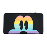 Loungefly Disney Mickey Mouse Pastel Rainbow Wallet