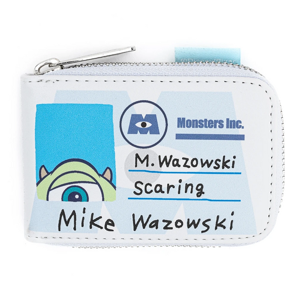Loungefly Pixar Monsters Inc Mike and Sully Accordion Cardholder