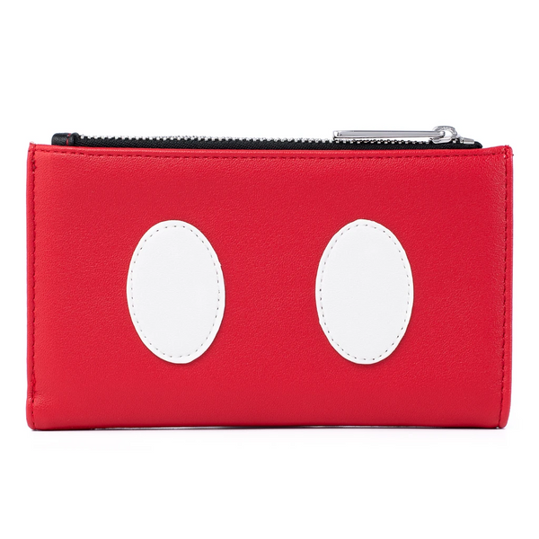 Loungefly Disney Mickey Mouse Quilted Flap Wallet