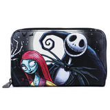 Loungefly Nightmare Before Christmas Jack and Sally Wallet