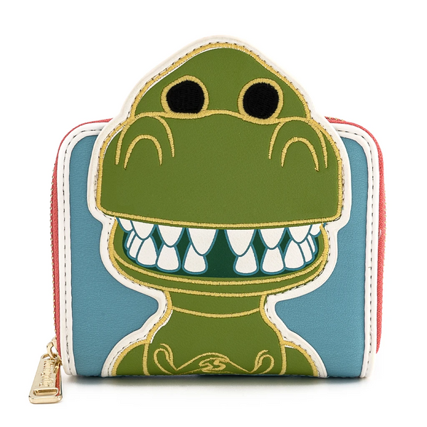 Pop by Loungefly Pixar 25th Anniversary Toy Story Rex Wallet