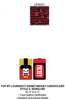 Pop By Loungefly Disney Mickey Cardholder PRE-ORDER, Price $20
