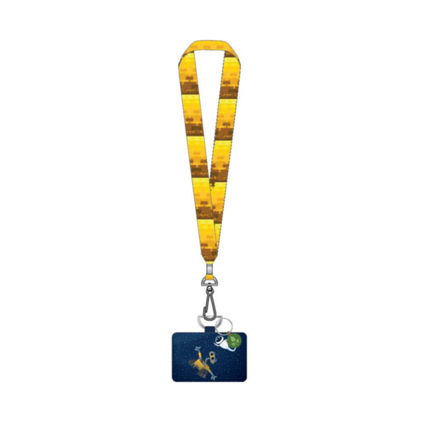 Loungefly Pixar Wall-E Space Lanyard with Cardholder