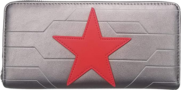 Loungefly Marvel Winter Soldier Cosplay Wallet