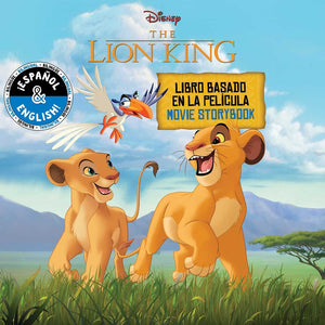 Disney The Lion King: Movie Storybook / Libro basado en la película