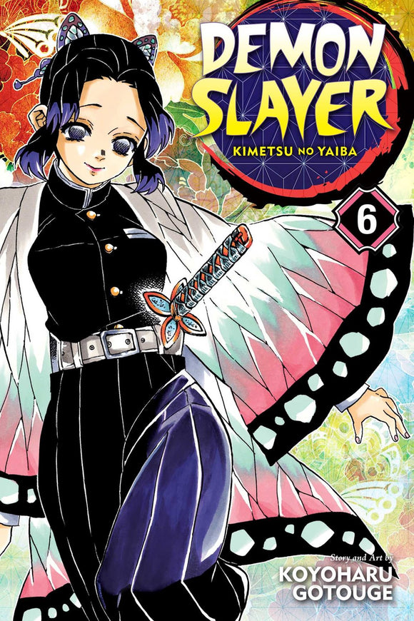 Demon Slayer: Kimetsu no Yaiba, Vol. 6
