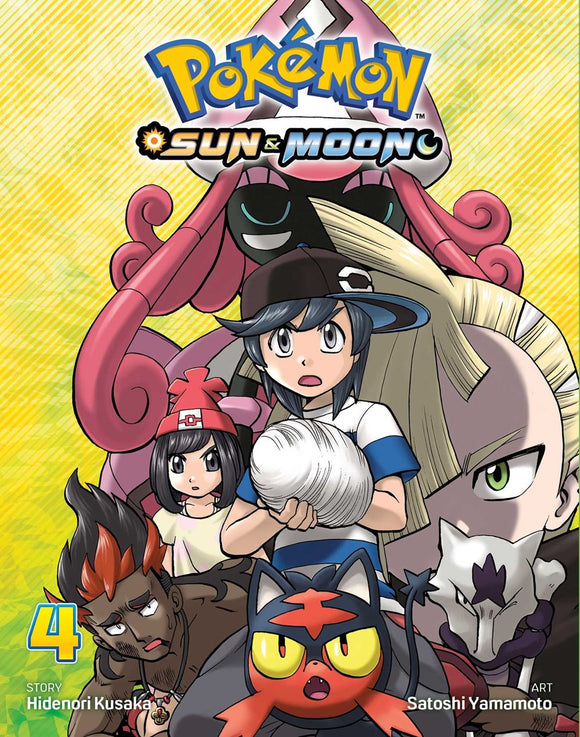 Pokémon: Sun & Moon, Vol. 4