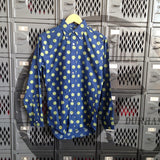 Vintage 1960s Polka Dot Button-down Shirt - Terminology