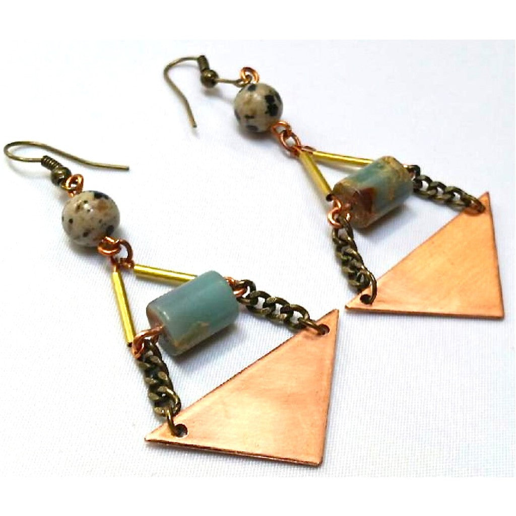 Golden Pyramid Earrings - Terminology