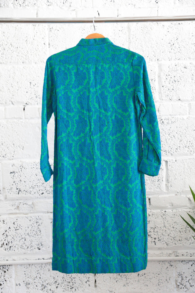 Vintage 1960s Jacquard Dress - Terminology